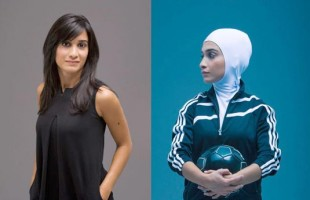 Left: Elham Seyed Javad, owner of Montreal based IQO Design