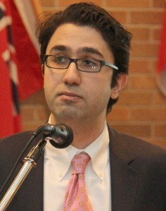"""ICC Vice President and Toronto-based lawyer Kaveh Shahrooz: """"Through this we can illustrate to the government, and other parties who may in the future form a government, that we are a community to be taken seriously and our vote can't be taken for granted,"""""""