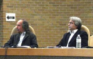 به ترتیب از راست به چپ: دکتر عطا دشتیان - دانشگاه مونترال، دکتر محمد توکلی ترقی - دانشگاه تورنتو