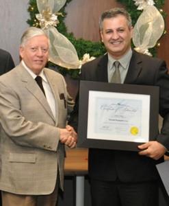 Sheridan College professor Farzad Rayegani