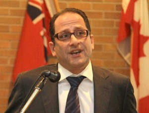 Ali Ehsassi, international trade lawyer and former  Department of Foreign Affairs and International Trade official. - Photo by Salam Toronto