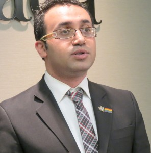 IRQR Executive Director Arsham Parsi