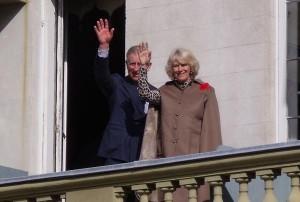 پرنس چارلز و کامیلا در سفرشان به همیلتون انتاریو در سال 2009